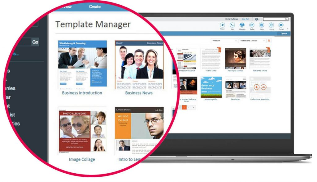 ACT CRM emarketing Swiftpage